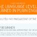 Levels of Language Proficiency Explain, Finally!